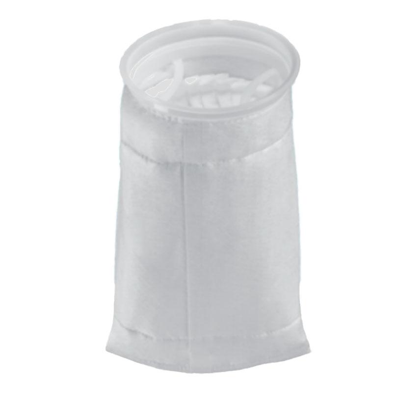 Bolsa com plissas verticais