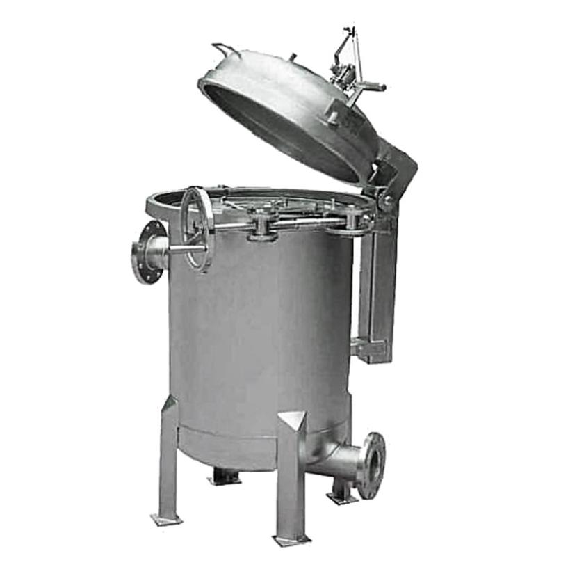 Carcaça de Filtração Multi-Bolsa com V-Clamp